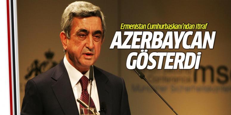 Ermenistan itiraf etti!