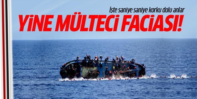 Mülteci faciası: 80 ölü