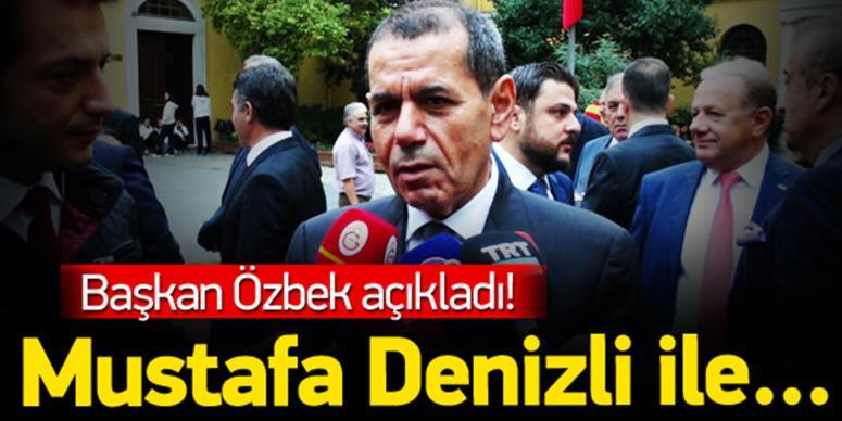 Başkan Özbek açıkladı!