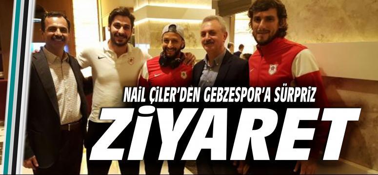 Çiler'den Gebzespor kampına ziyaret