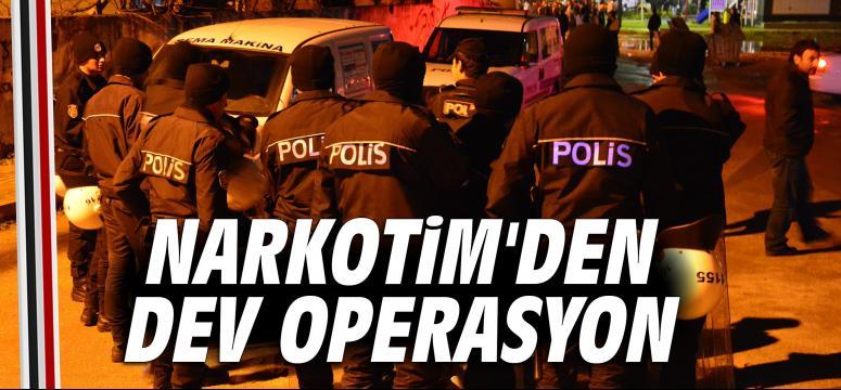 Narkotim'den Dev Operasyon