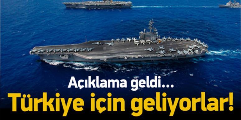 Türkiye için geliyorlar