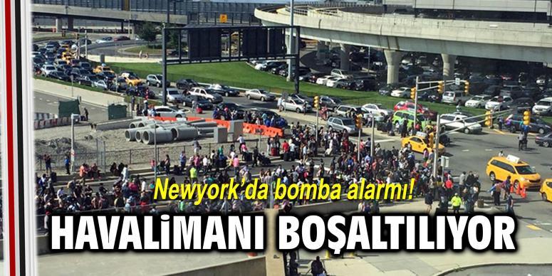 Newyork'da bomba alarmı!