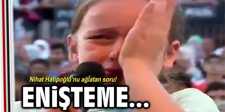 Nihat Hatipoğlu'nu ağlatan soru!