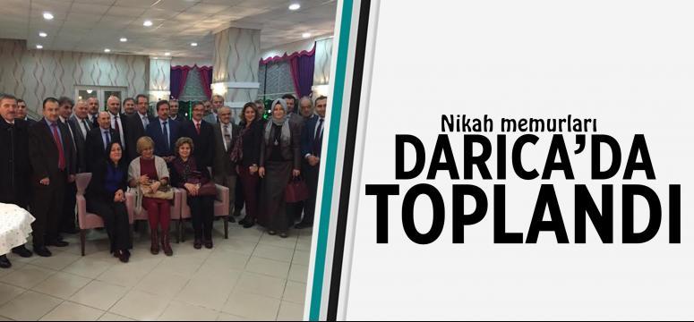 Nikah memurları Darıca'da toplandı