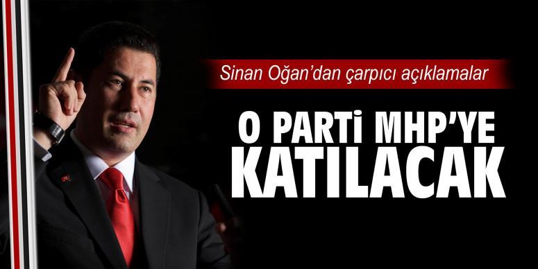 O parti MHP'ye katılacak