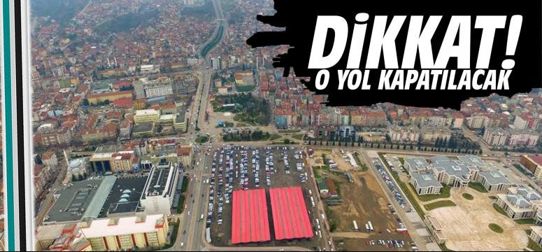 Hastane inşası nedeniyle yollarda düzenleme yapılacak