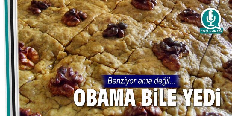 Obama bile yedi