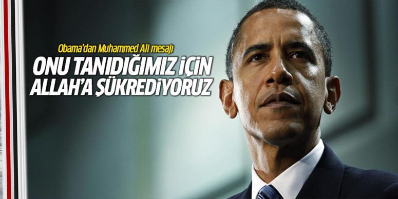 Obama'dan Muhammed Ali mesajı