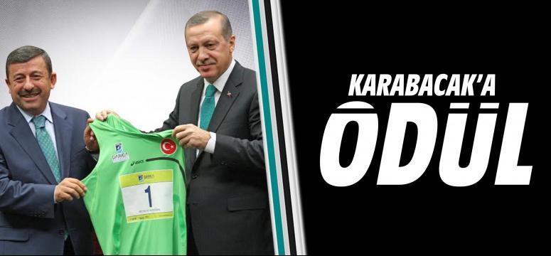 Karabacak'a Ödül