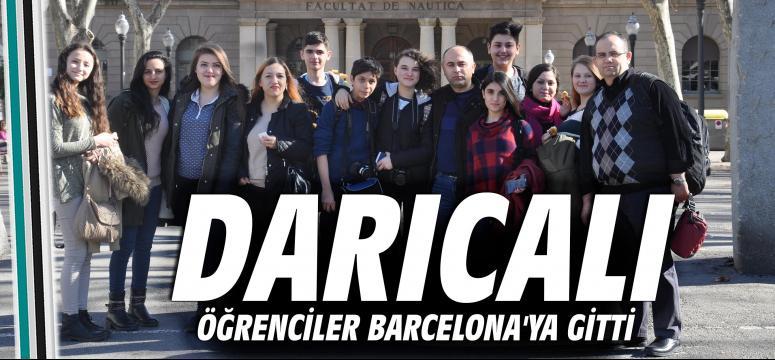 Öğrenciler Barcelona'ya gitti