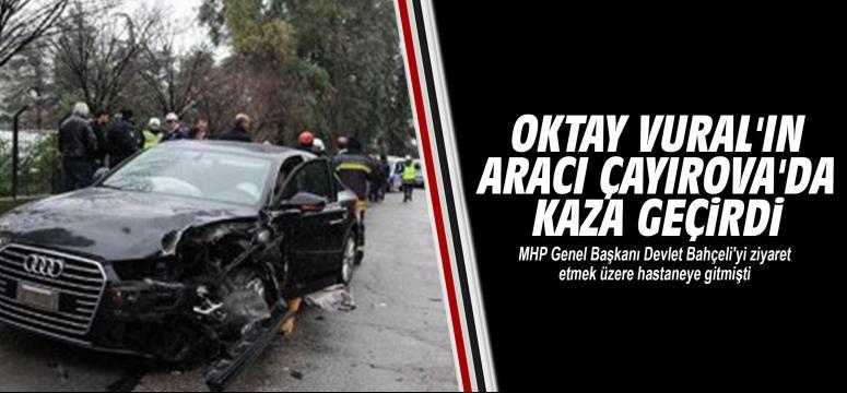 Çayırova'da kaza yaptı