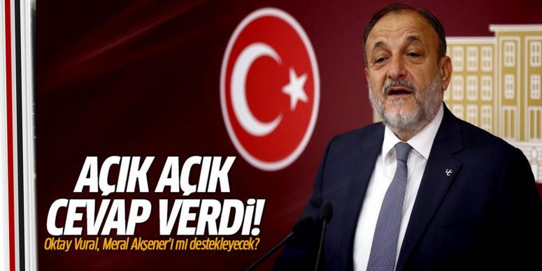 Oktay Vural, Meral Akşener'i mi destekleyecek?