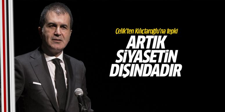 Ömer Çelik'ten Kılıçdaroğlu'na tepki