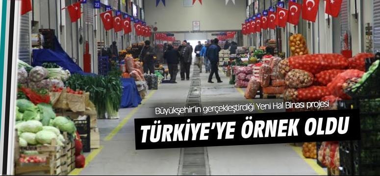 Büyükşehir'in tesisleri Türkiye'ye örnek oluyor