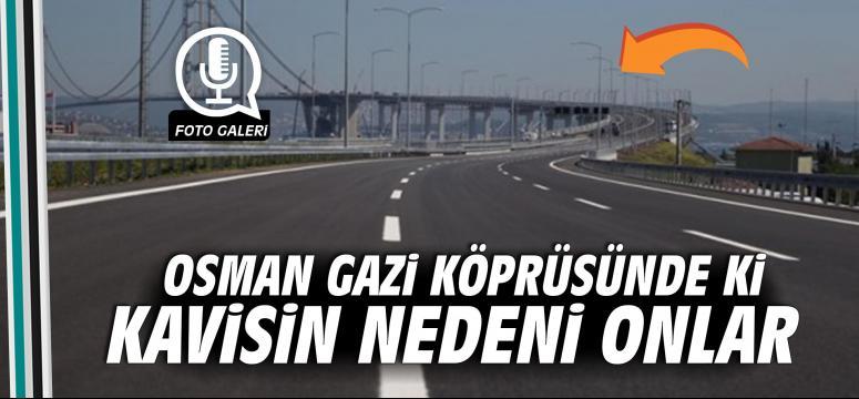 Osman Gazi Köprürüsündeki Kavisin Nedeni Onlar