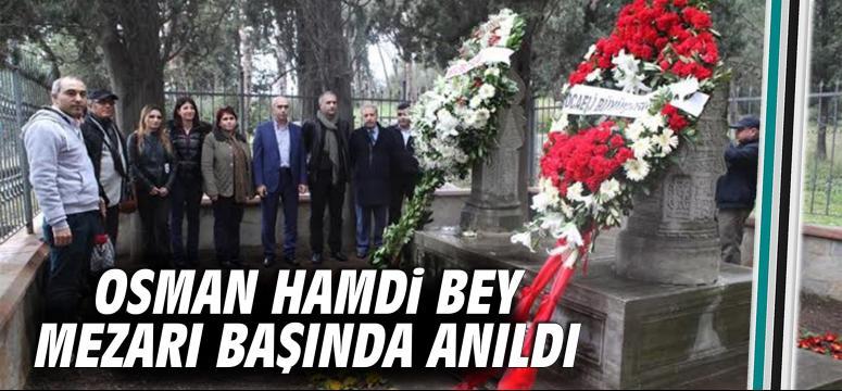 Osman Hamdi Bey mezarı başında anıldı