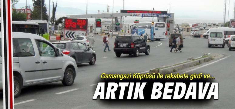 Osmangazi Köprüsü ile rekabete girdi ve...