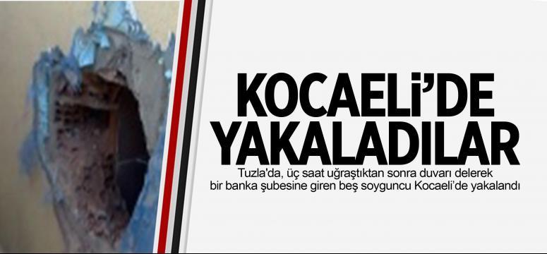 Kocaeli'de Yakalandılar