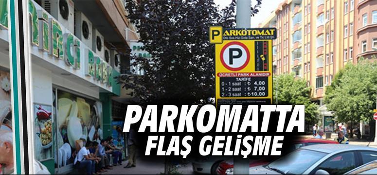 Parkomat'ta flaş gelişme