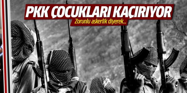 PKK, çocuk kaçırmaya başladı!