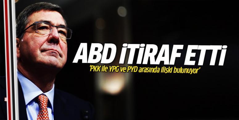 PKK ile YPG ve PYD ilişkisini kabul etti