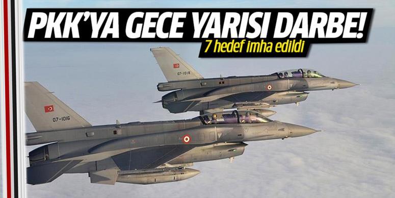 PKK'ya gece yarısı darbe!