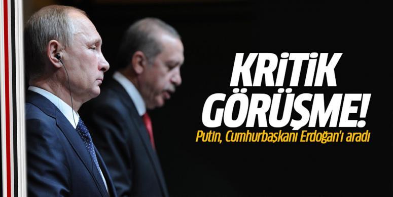 Putin-Erdoğan görüşmesi tamamlandı...