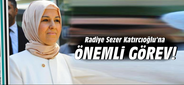 Katırcıoğlu'na önemli görev!