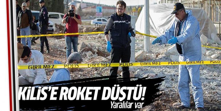 Kilis'e roket düştü: Yaralılar var