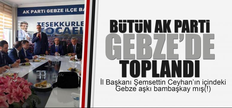 AK Parti Gebze'de basın toplantısı yaptı