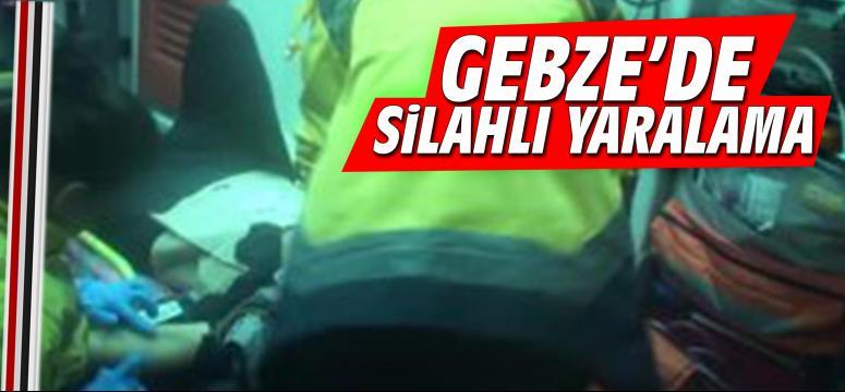 Gebze'de silahlı bir yaralama