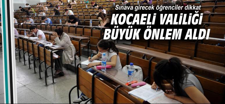 Sınava girecek öğrenciler dikkat