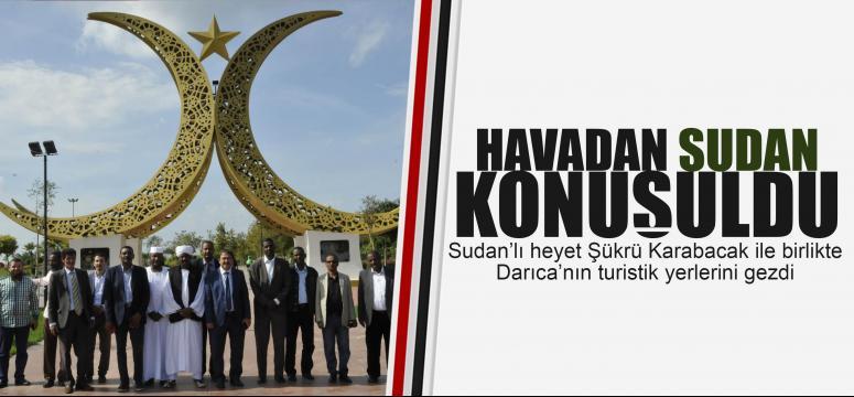 Sudan'dan Darıca'ya geldiler