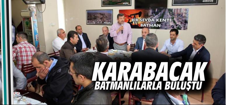 Karabacak Batmanlılarla kahvaltıda buluştu