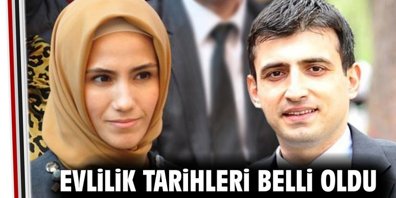 Sümeyye Erdoğan'ın evlilik tarihi netleşti