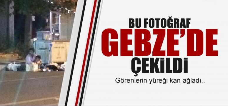 Bu fotoğrag Gebze'de çekildi!