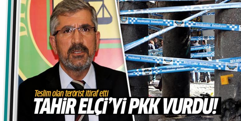 Tahir Elçi'yi PKK vurdu!