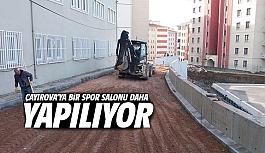 Çayırova'ya bir spor salonu daha...