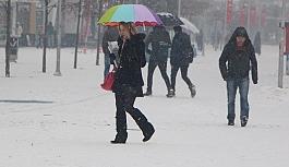 Meteoroloji saat verdi! Yoğun kar...