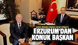 Adnan Köşker'e Erzurum'dan...