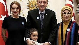 Lindsay Lohan'dan olay Erdoğan paylaşımı