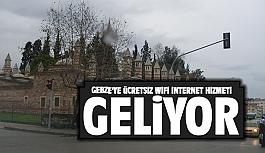 Gebze'ye ücretsiz wifi hizmeti...