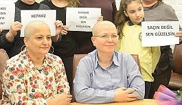 Kanser hastalarına destek için bakın ne yaptılar!