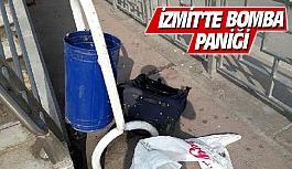 İzmit'te bomba paniği