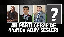 AK Parti Gebze'de 4'üncü aday...