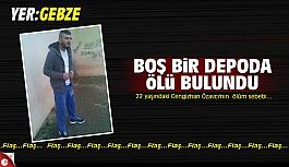 Cengizhan Özavcı boş bir depoda...