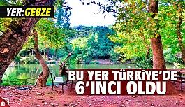 Gebze Türkiye'de İlk 6'ya...