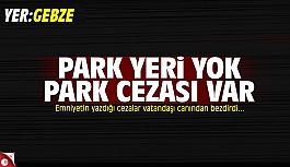 Park cezaları vatandaşı canından...