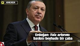 Erdoğan: Faiz artırımı baskısı...